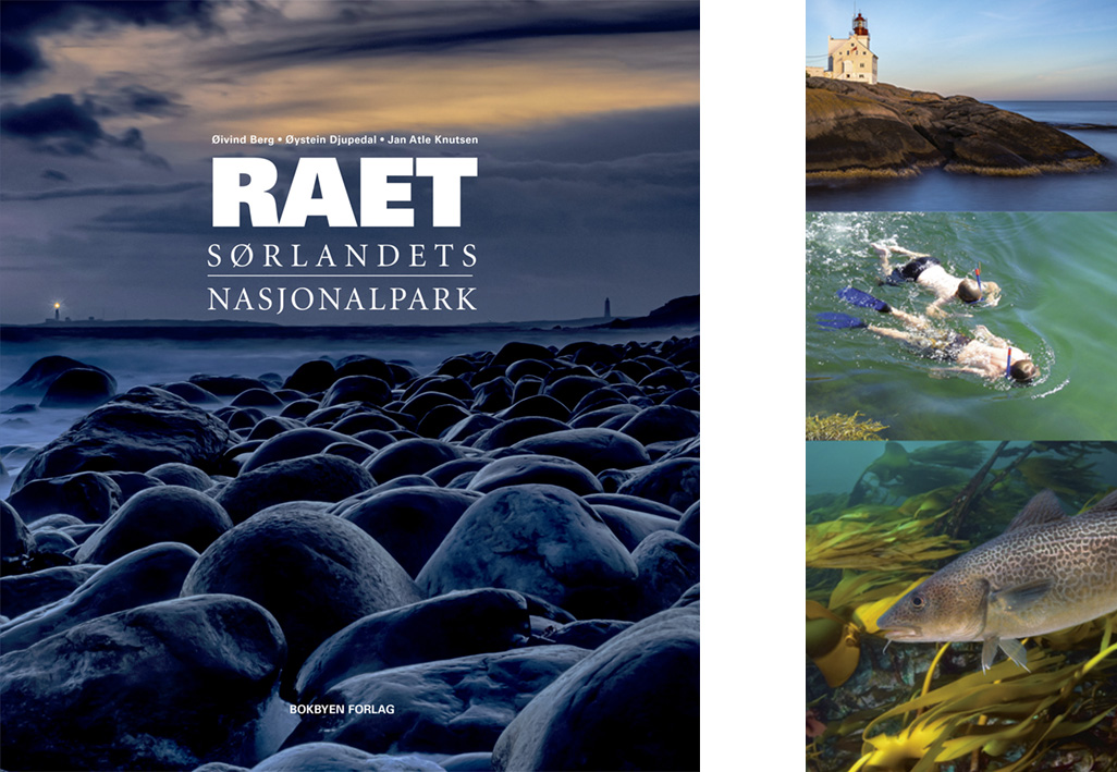 Raet nasjonalpark presenteres i praktbok med tekst og bilder